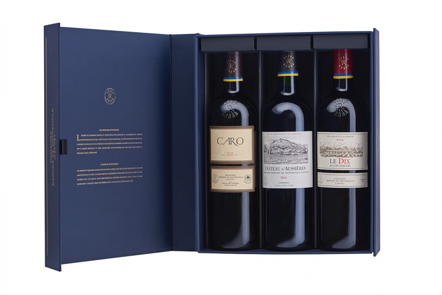 Packshot coffret vin
