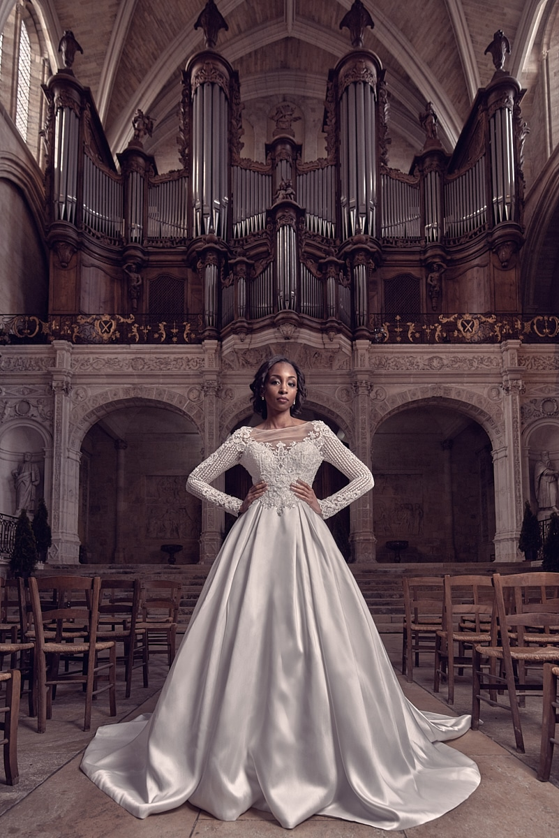 Photo robe de mariée