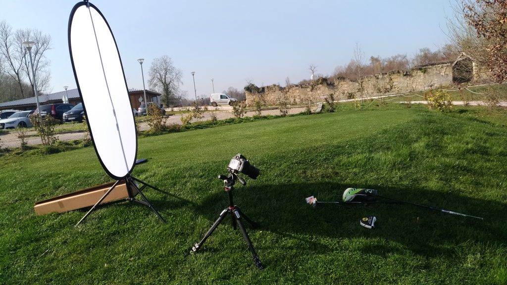 setup pour le shooting photo