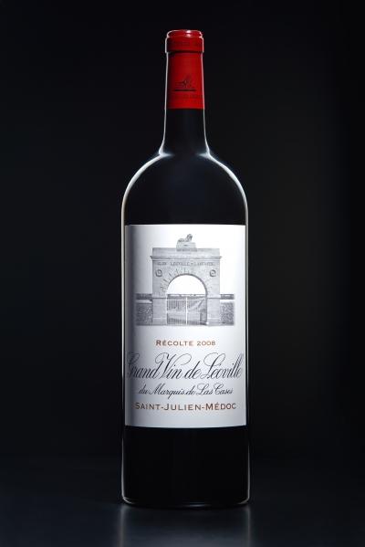 Photographie de bouteilles de vin