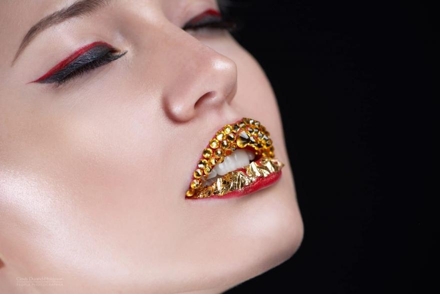Photographe beauté lèvres