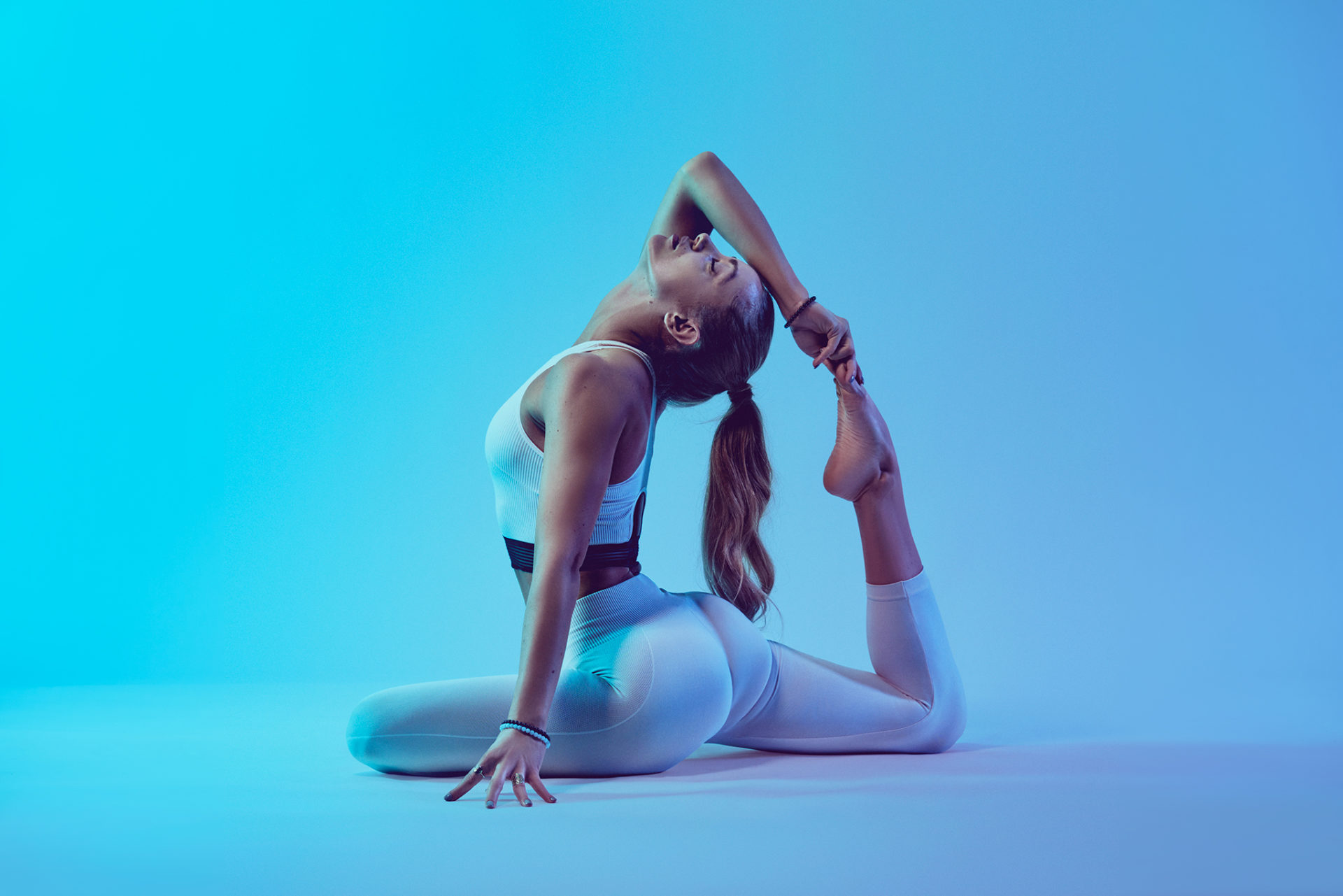 Photographe sportswear yoga