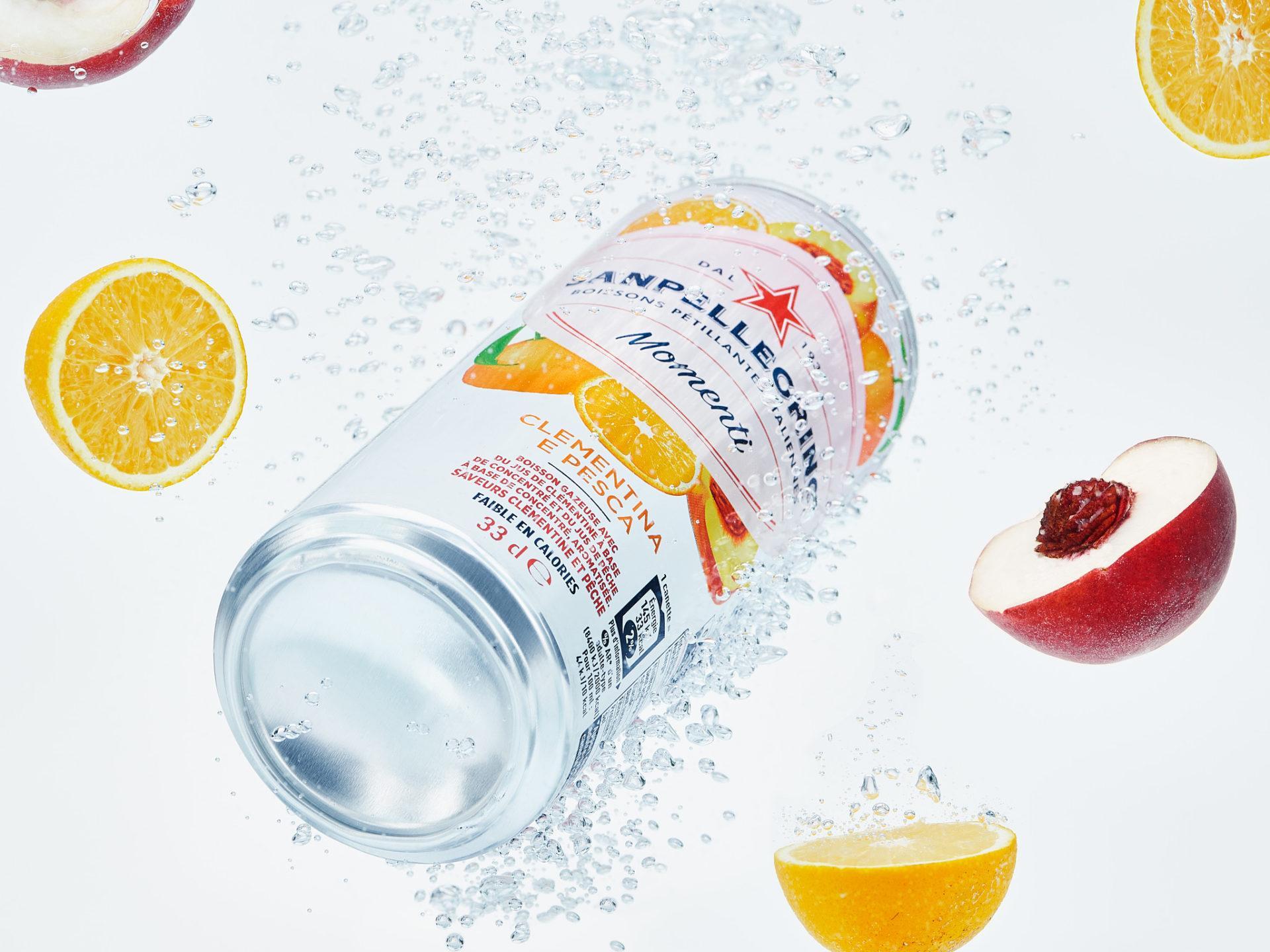 Photographe soft drinks